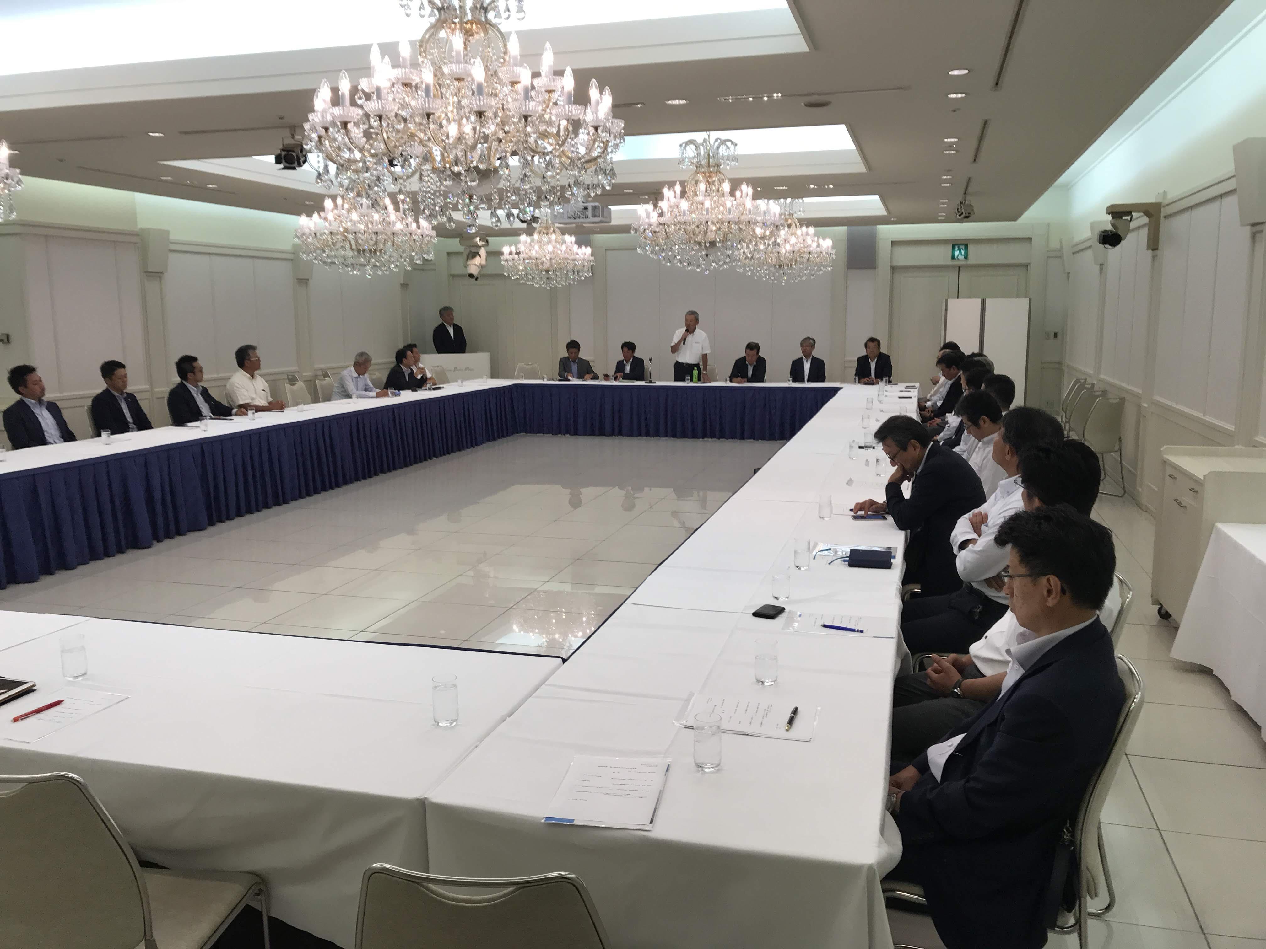 中日本ブロック会開催理事長挨拶